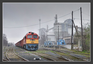 M62 145, Schotterwerk Usza/Ungarn, 05.April 2006