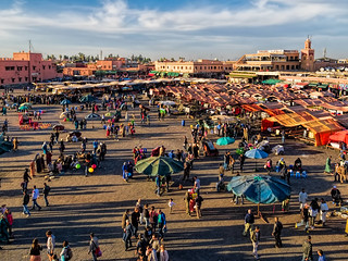 Image of Place Djemaa El-Fna.