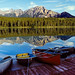 Patricia Lake Boats by Mister Electron