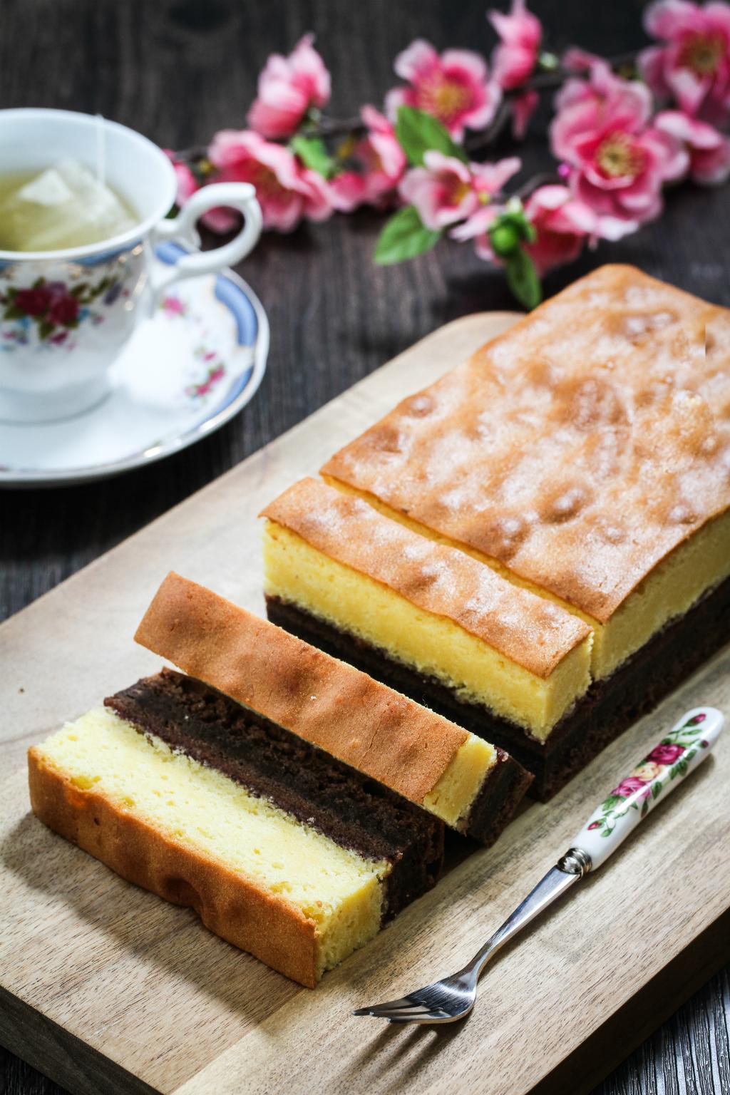 Bakerzin Vanilla Chocolate Cake