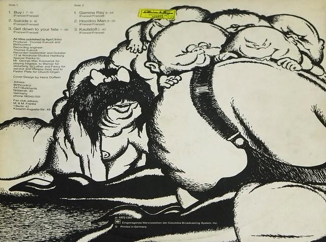 "BIRTH CONTROL HOODOO MAN 12"" FOC LP ALBUM VINYL"