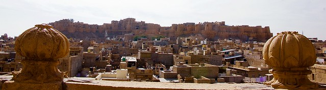 Jaisalmer Golden fort panorama