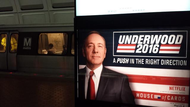 DC Politics: Underwood, Underground