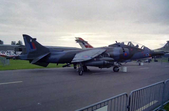 XZ146/W Harrier T.4