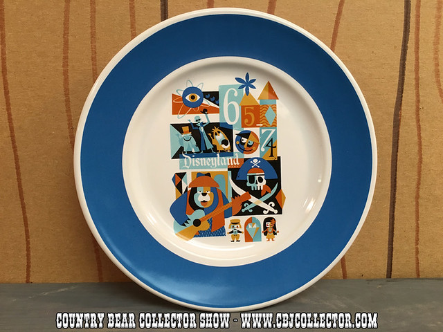 2015 Disneyland Decades '65-'74 Dessert Plate - Country Bear Collector Show #030