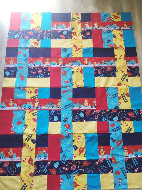 Fireman Come What May Quilt