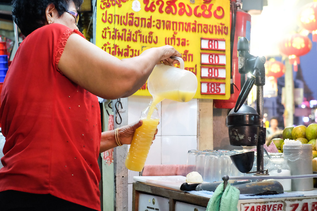 Chinatown Bangkok Food: Fresh Fruit Juice