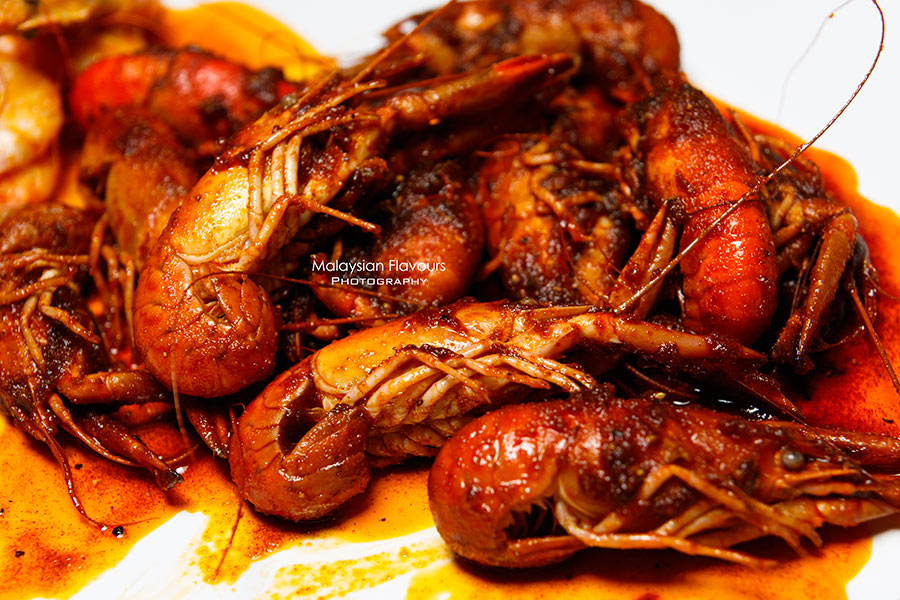 Shell Out Seafood Restaurant yabbies