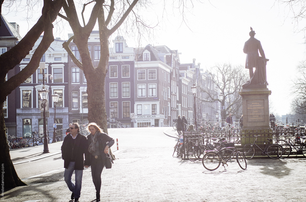 Amsterdam, Sunny Weekend in February