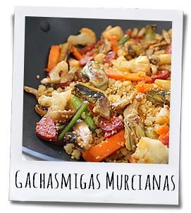 Gachasmigas Murcianas is een voedzaam en smaakvol gerecht op basis van meel en olie