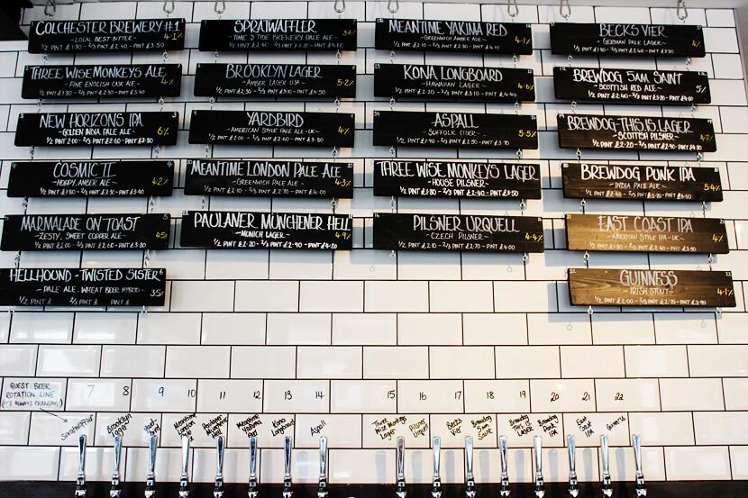 Colchester pubs