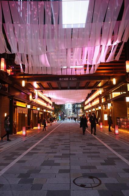 artificial sakura imaging street 日本桜風街道 02