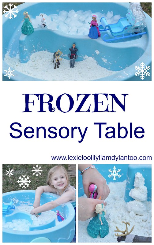 Frozen Sensory Table