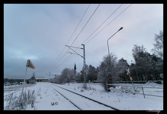 Paso a nivel en Rovaniemi