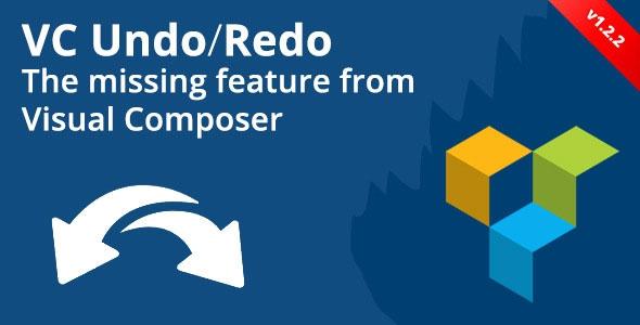 Visual Composer Undo/Redo Buttons v1.2.3