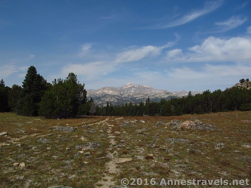 More views from Stough Creek Pass, Wind River Range, Wyoming