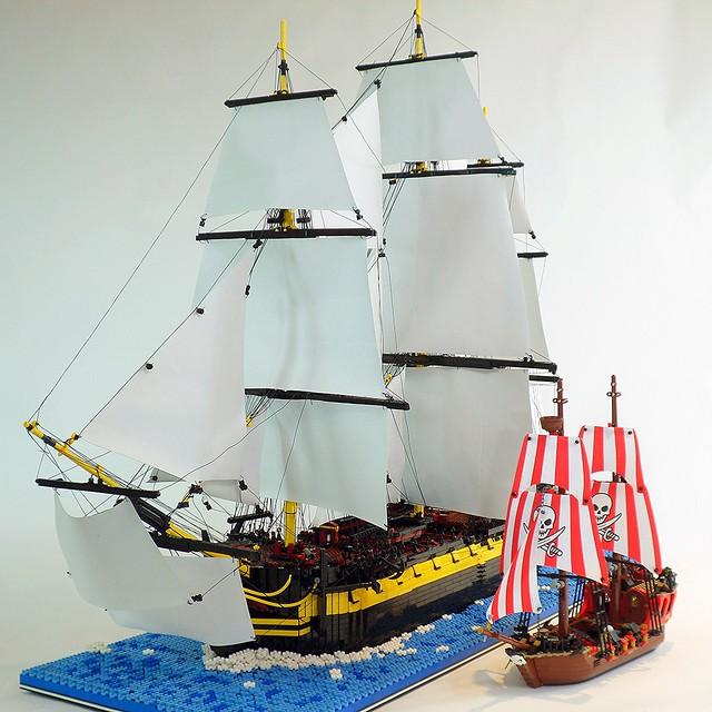 HMS Enterprize & The Brick Bounty
