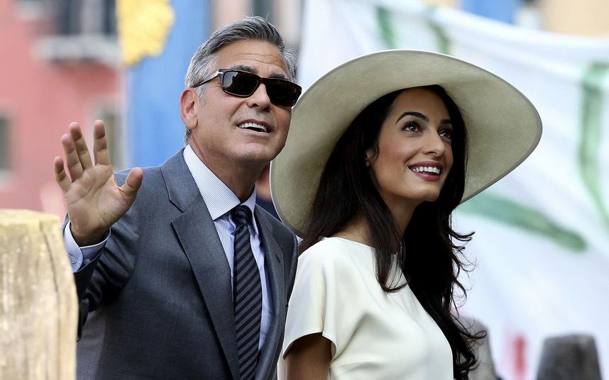 Джордж Клуни в браке с Амаль Аламуддин