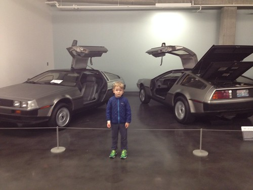 Two DeLoreans--Whatever
