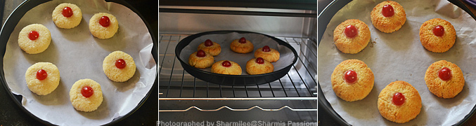 How to make Eggless Coconut Macaroons Recipe - Step3
