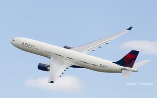 N827NW Delta Air Lines Airbus A330-302 - cn 1716