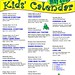 Children's May 2016 Calendar