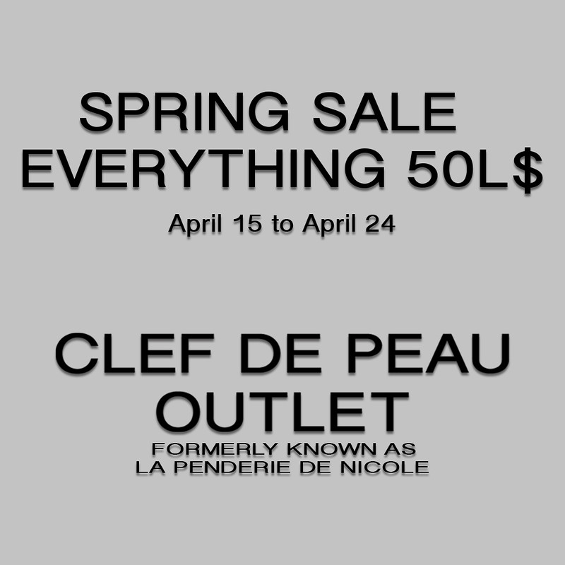 Spring Sales (clearance)