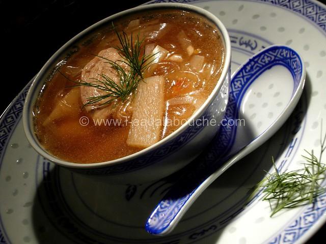 Soupe de Poulet Asiatique © Ana Luthi Tous droits réservés 0003