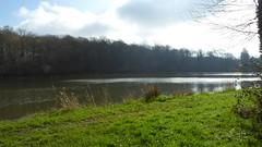 Anor.- L'étang de Milourd