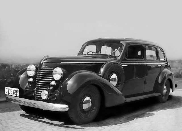 Škoda Superb 4000 (Type 919) 1939 – 1940 годы