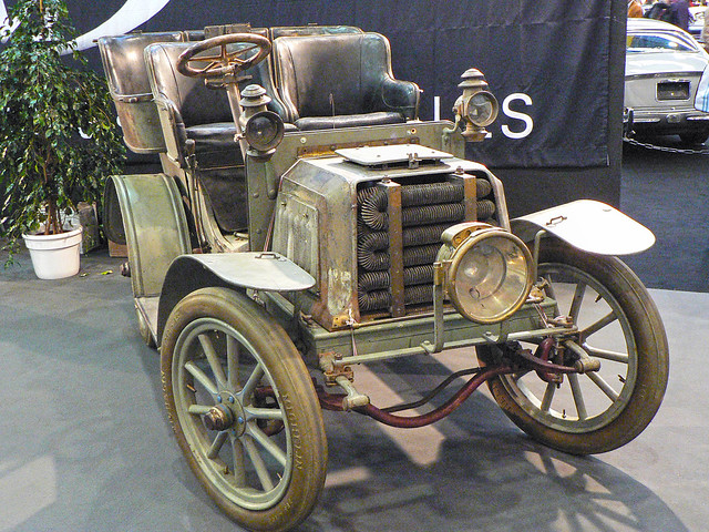 Panhard et Levassor 7CV rear-entrance Tonneau 1902 (1034021)