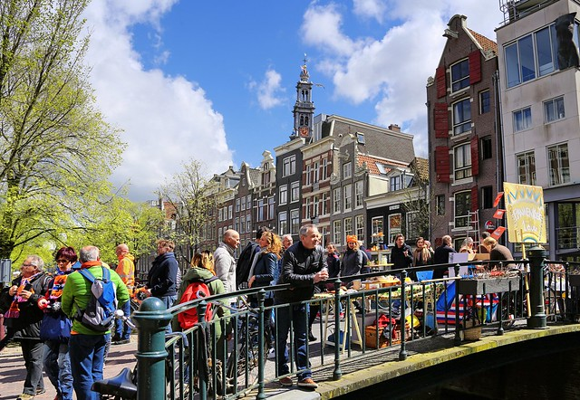 Pancakes for 1 €  at the Bloemgracht