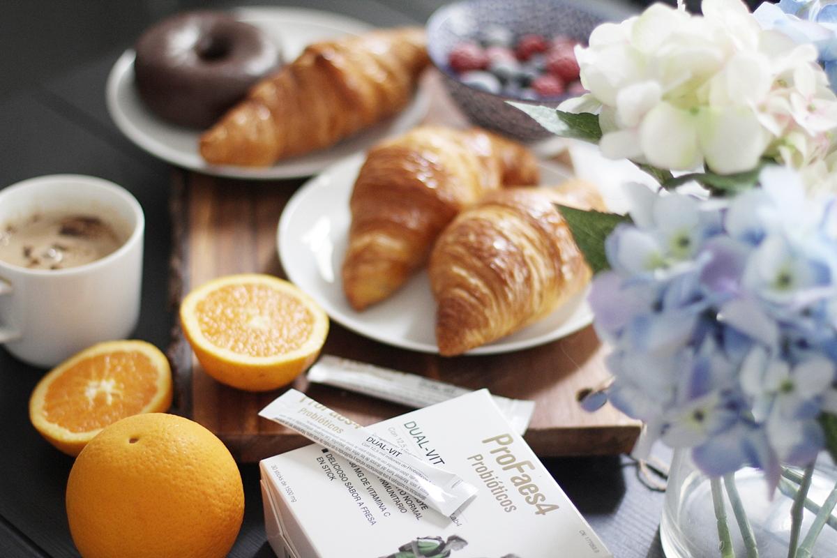 desayuno saludable y completo vitaminico de probioticos profaes4 dual vit 2