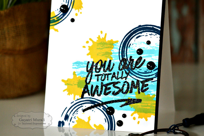 You are awesome closeup by Gayatri Murali