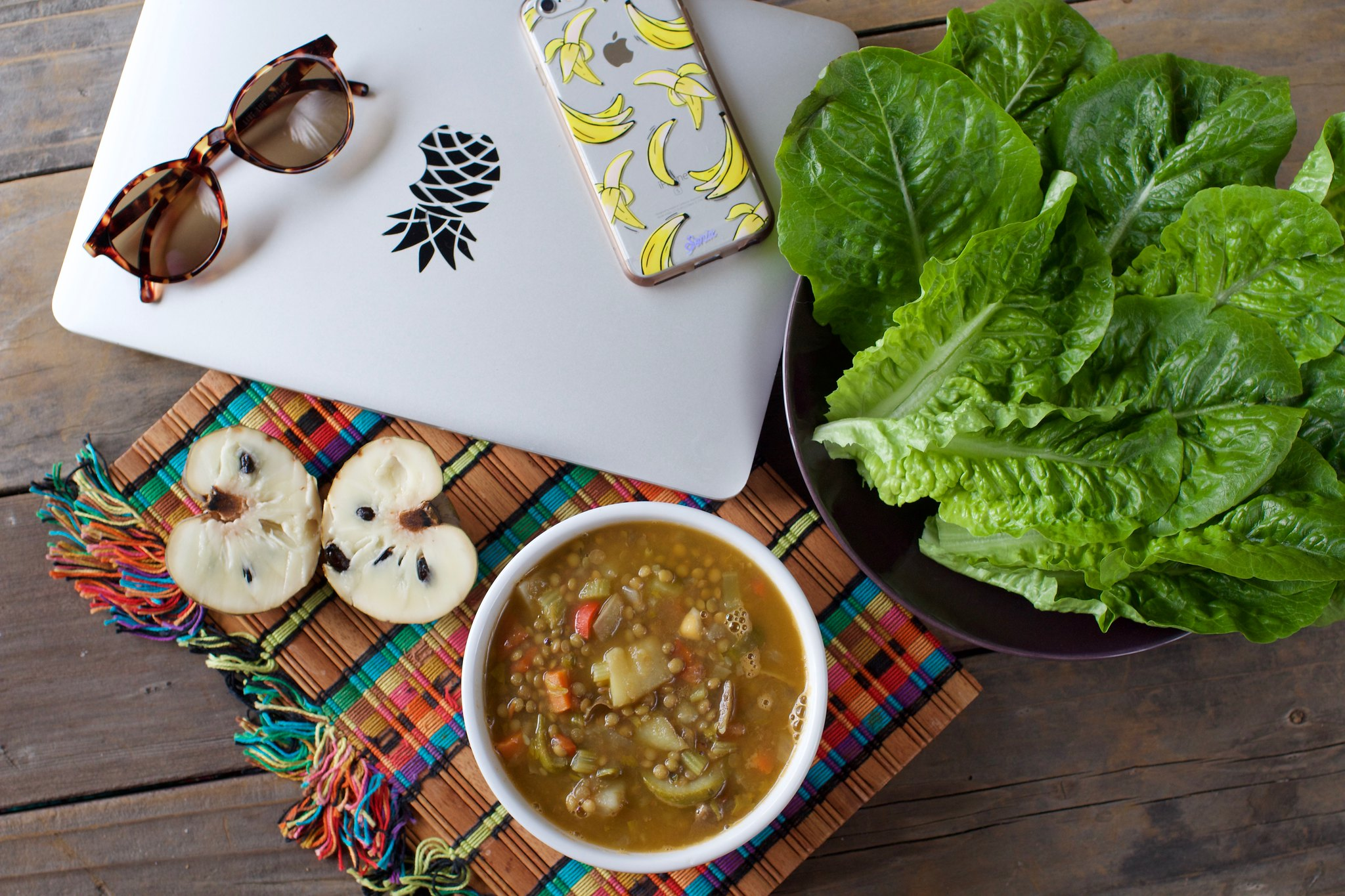 'Hearty' Lentil Soup - Vegan Valentine's Day Menu {oil-free} sweetsimplevegan.com