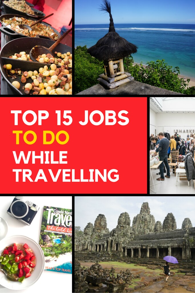 Jobs you can do while travelling