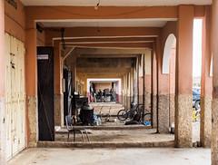Zagora, Garage de réparation