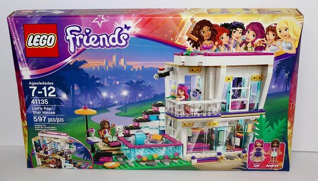 Review 41135 Livis Pop Star House Brickset Lego Set Guide And