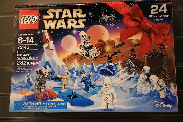 LEGO Star Wars 75146 Star Wars Advent Calendar 2016 1