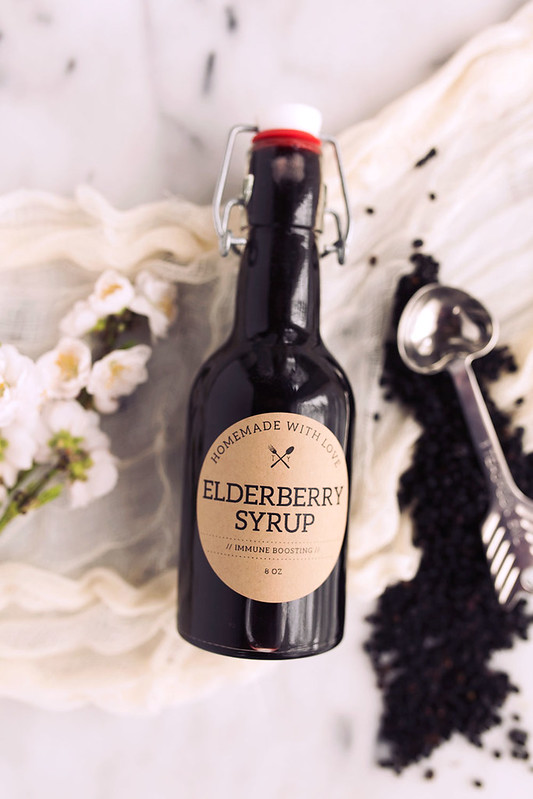 How-to Make Elderberry Syrup