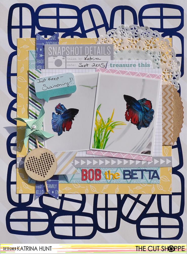Bob the Betta-The Cut Shoppe