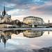 Miroir d'eau temporaire sur Notre Dame by Loïc Lagarde
