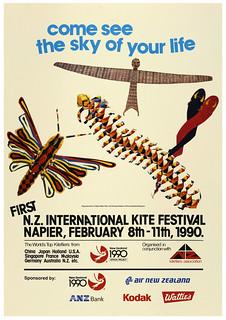 1990 New Zealand International Kite Festival