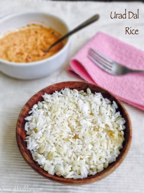 Urad Dal Rice Recipe for Babies, Toddlers and Kids 3
