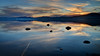 Kaspian Beach, Lake Tahoe California at Sunset