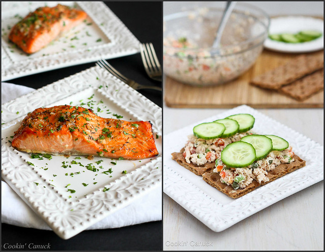 Healthy Salmon Recipes Collage