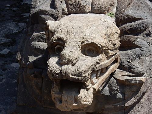 Teotihuacan - Templo de Quetzalcoatl