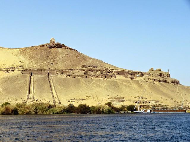2015 Ägypten - Assuan - Westseite