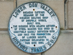 Photo of White plaque number 10160