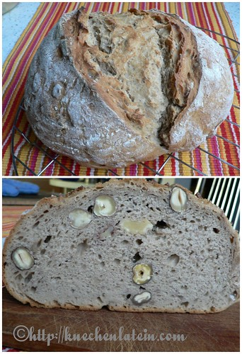 Walnussbrot - Brot backen 001 Collage